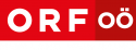 ORF OÖ mit Slogan in weiß
